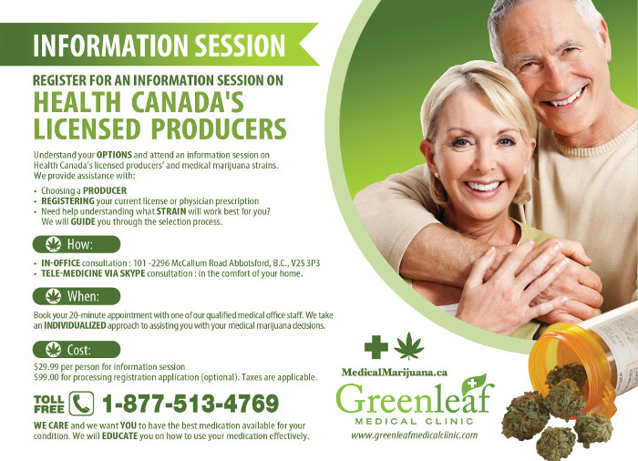 Licensed Producer Information Session